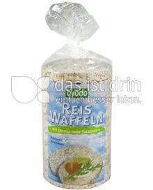 Produktabbildung: byodo Reis Waffeln mit Quinoa ohne Salzzusatz 100 g