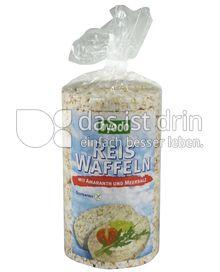 Produktabbildung: byodo Reis Waffeln mit Amaranth und Meersalz 100 g
