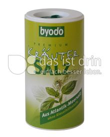 Produktabbildung: byodo Premium Kräuter Salz 125 g