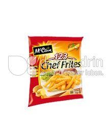 Produktabbildung: McCain 1.2.3 Chef Frites 750 g