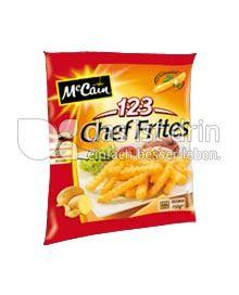 Produktabbildung: McCain 1.2.3 Chef Frites 1500 g