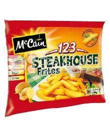 Produktabbildung: McCain 1.2.3 Steakhouse Frites 1000 g