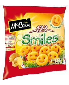 Produktabbildung: McCain 1.2.3 Smiles 450 g