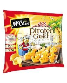 Produktabbildung: McCain 1.2.3 Piraten Gold 450 g