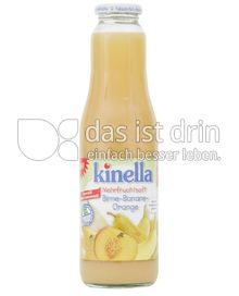 Produktabbildung: Kinella Mehrfruchtsaft Birne-Banane-Orange 750 ml