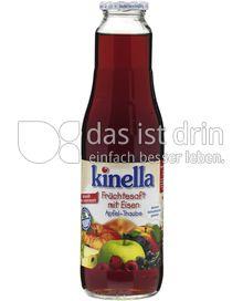 Produktabbildung: Kinella Früchtesaft mit Eisen - Apfel-Traube 750 ml