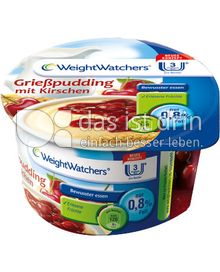 Produktabbildung: Weight Watchers Grießpudding mit Kirschen 130 g