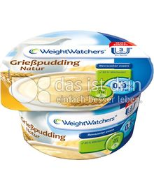 Produktabbildung: Weight Watchers Grießpudding Natur 130 g