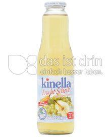 Produktabbildung: Kinella Traube-Birne Fruchtschorle mit stillem Wasser 750 ml
