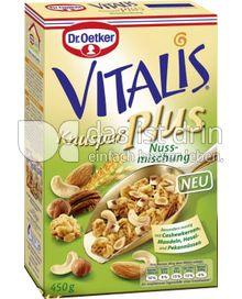 Produktabbildung: Dr. Oetker Vitalis Knusper Plus Nussmischung 450 g
