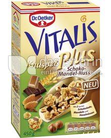 Produktabbildung: Dr. Oetker Vitalis Knusper Plus Schoko-Mandel-Nuss 450 g