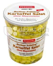 "Produktabbildung: Pfennigs ""Berliner Frühling"" Kartoffel Salat ohne Mayonnaise 500 g"