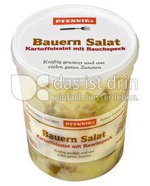"""Produktabbildung: Pfennigs """"Bauernsalat"""" Kartoffel Salat mit Rauchspeck 500 g"""