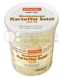 Produktabbildung: Pfennigs Mecklenburger Kartoffel Salat mit Ei 500 g