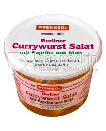 Produktabbildung: Pfennigs Berliner Currywurstsalat mit Paprika und Mais 250 g