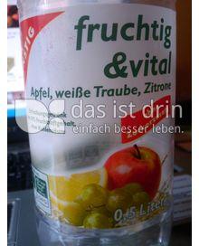 Produktabbildung: Gut & Günstig fruchtig & vital 0,5 l