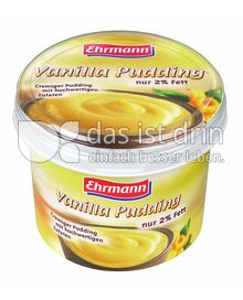 Produktabbildung: Ehrmann Vanilla Pudding 750 g