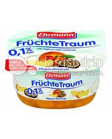 Produktabbildung: Ehrmann FrüchteTraum Pfirsich-Maracuja 125 g