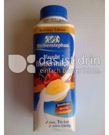 Produktabbildung: Weihenstephan Frucht Buttermilch Brombeere Kirsch Banane 400 g