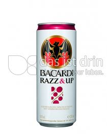 Produktabbildung: Bacardi Razz & Up 330 ml