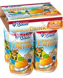 Produktabbildung: Bauer Wikinger-Drink Pfirsich-Aprikose 400 g