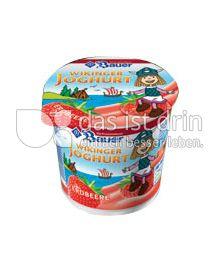 Produktabbildung: Bauer Wikinger-Joghurt Erdbeere 125 g