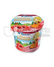 Produktabbildung: Bauer Wikinger-Joghurt Himbeere 125 g
