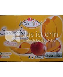 Produktabbildung: Well You Smoothie Fruchsorbet Mango 4 St.
