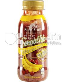 Produktabbildung: Aldi Pure Fruit Smoothie Obstdrink Kirsch-Banane 250 ml