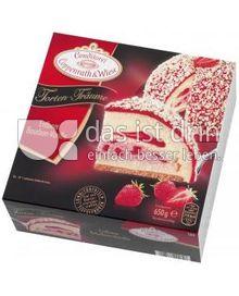 Produktabbildung: Conditorei Coppenrath & Wiese Torten-Träume Erdbeer-Bourbon-Vanille 650 g