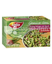 Produktabbildung: iglo Grüne Bohnen mit Speck 480 g