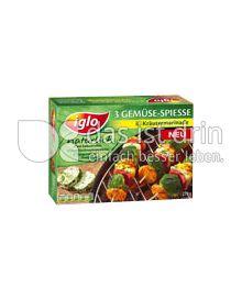 Produktabbildung: iglo Gemüse-Spiesse in Kräutermarinade 3 St.