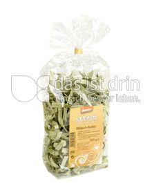 Produktabbildung: Naturata Hartweizen-Bandnudeln mit Bärlauch 250 g