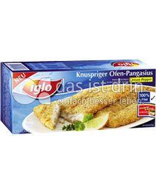 Produktabbildung: iglo Knuspriger Ofen-Pangasius 335 g