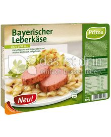 Produktabbildung: Prima Menü Bayerischer Leberkäse 400 g