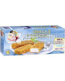 Produktabbildung: iglo Omega-3 Fischstäbchen 12 St.