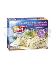 Produktabbildung: iglo Naturfilets mit Marinade Kräuter-Knoblauch 300 g