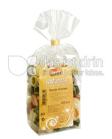 Produktabbildung: Naturata Bunte Kronen aus Hartweizengrieß, demeter 250 g