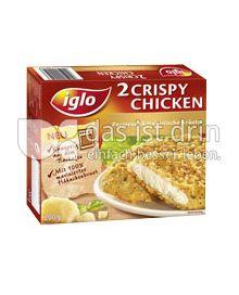 Produktabbildung: iglo 2 Crispy Chicken Parmesan & italienische Kräuter 200 g