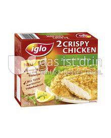 Produktabbildung: iglo 2 Crispy Chicken 200 g