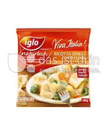 Produktabbildung: iglo Viva Italia! Ricotta-Spinat-Tortelloni 500 g