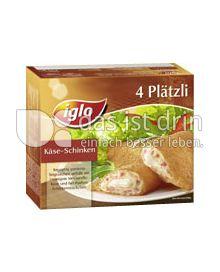 Produktabbildung: iglo 4 Plätzi Käse-Schinken 250 g
