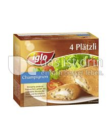 Produktabbildung: iglo 4 Plätzi Champignon 250 g