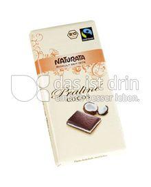 Produktabbildung: Naturata Schokolade Praliné Cocos 100 g