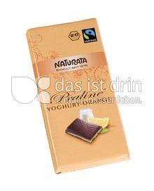 Produktabbildung: Naturata Schokolade Praliné Yoghurt-Orange 100 g
