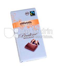 Produktabbildung: Naturata Schokolade Praliné Nougat 100 g