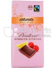 Produktabbildung: Naturata Praliné Himbeer-Zitrone 100 g