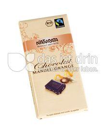 Produktabbildung: Naturata Chocolat Mandel Orange 100 g