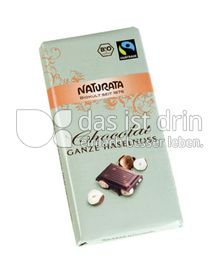 Produktabbildung: Naturata Chocolat Ganze Haselnuss 100 g