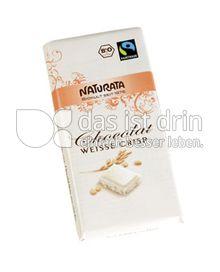 Produktabbildung: Naturata Chocolat Weiße Crisp 100 g